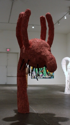 Touchy Feely – 2013 (Plaster, Paint, Concrete, Silicone) 10' x 3' x 6'