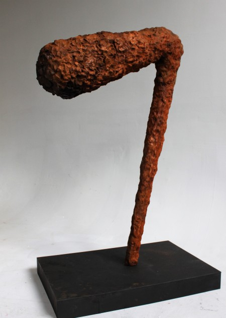 Him – 2017 (Cast Iron) 4' x 1.5' x 3'