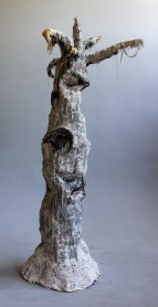 Intro Sculpture, Plaster and paint