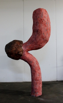 Walnut – 2014 (Plaster, Paint) 6.5' x 3' x 2'